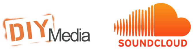 DIY Media and SoundCloud Logos