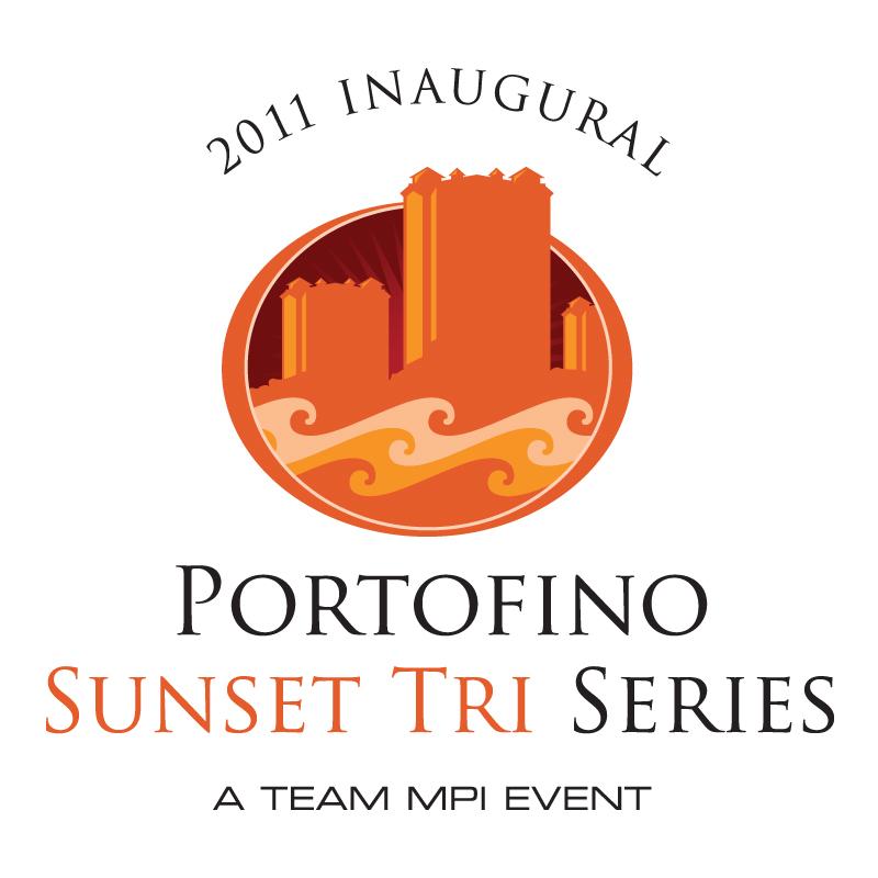 Portofino Sunset Tri Logo