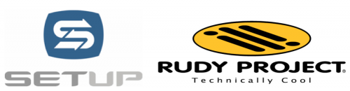 Set Up Events + Rudy Project Logos