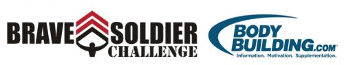 Brave Soldier Challenge + Bodybuilding.com Logos